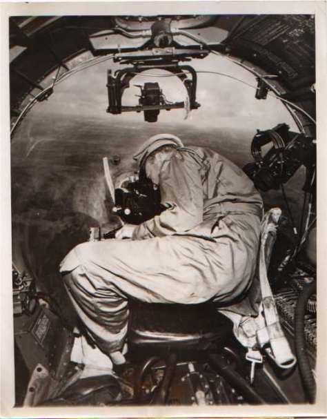 World War II Bombadier Photo