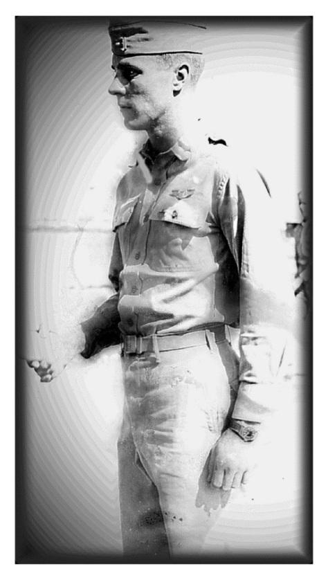 My Papa (age 20). Already a pilot headed to War...