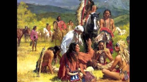 shawnee folk depiction 1850s